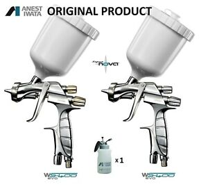 Iwata Ws400 1 4 Base Ws400 1 4 Clear Kit Supernova Spray Guns New