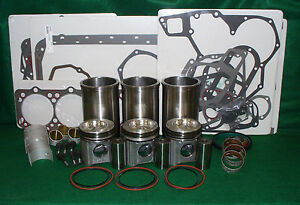 Rp261 John Deere 152 Engine Major Overhaul Kit 820 830 920 1020 301a Jd301