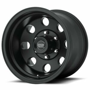 16 American Racing Ar172 Baja Black Wheel 16x8 6x4 5 0mm Dodge Durango Dakota