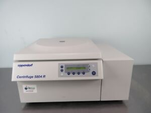 Eppendorf 5804r Refrigerated Centrifuge With Warranty See Video