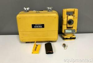 Topcon Gts 312 Surveying Electronic Total Station With Case Transit Inspection