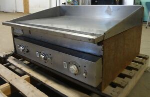 Keating Heavy Duty Commercial Stainless Steel 36 Electric Flat top griddle
