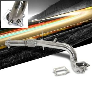 Manzo Stainless Steel Exhaust Downpipe For Mazda 07 12 Mazdaspeed 3 2 3l L4