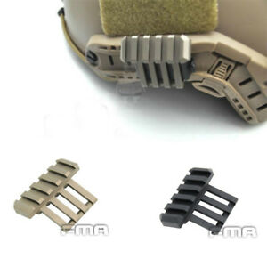 FMA OPS Helmet 20mm Rail Accessory 45 Degree Side RAil Mount Helmet guide $9.48