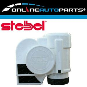 Stebel Nautilus Compact Tuning Marine Boat Air Horn Kit 12volt White Abs Plastic