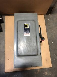 Square D H 323 N Safety Disconnect Switch 100 Amp Used