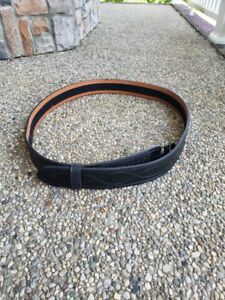 Safariland Black Buckleless Duty Belt Never Used With Tags