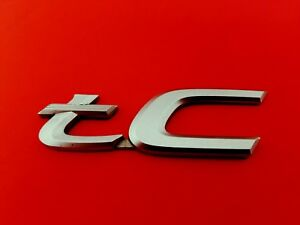 05 06 07 08 09 10 Scion Tc Rear Trunk Emblem Logo Badge Sign Symbol Oem 2005