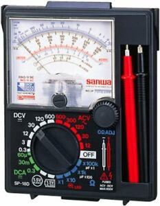 Sanwa Analog Multi Tester Sp18d p Blister Packed Made In Japan F s New