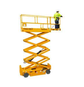 2015 Haulotte Compact 2632 E Scissor Lift Working Height Of 32 Low Hours 97