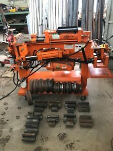 Huth Horizontal Hydraulic Tubing exhaust Bender Model 1800