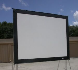 Da lite 7 5x10 Truss Frame Front Projection Screen Surface Only 8x11