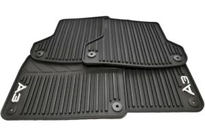 Genuine Audi All Weather Floor Mats Front Rear 2006 2014 A3 8p1 061 450 041