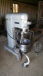 Hobart L800 Commercial Dough Mixer Bakery Equipment Pizza 80 Qt Quart L 800 80qt