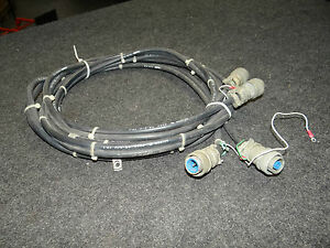 Lot Of 2 Military Cable Test Equipment Radio Belden Rg 8 u Coaxial