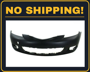 New Front Bumper Cover For Hatchback Models For Mazda 3 2004 2006 Ma1000195