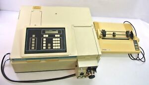 Beckman Du 62 Spectrophotometer W Pump Printer Tested Calibrated