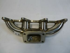 Obx Stainless T3 Turbo Manifold For 1998 01 Chevy Cavalier Pontiac Sunfire 2 2l