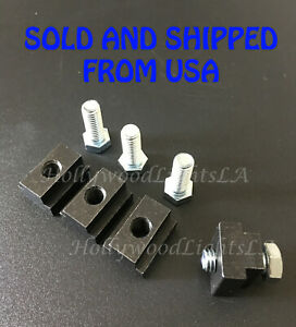 Bed Rail T Slot Nuts Cleat Tie Down Deck Rail For Tacoma Tundra Bedrail