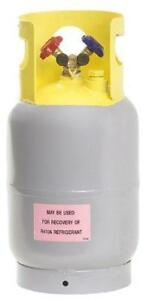 Flame King Refrigerant Recovery Cylinder Tank Reusable Dot Compliant
