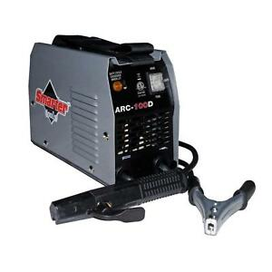 Smarter Tools Ac Stick Welder Two Stage Switch Easy Control 120 volt 100 Amps