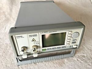 Hp Agilent 8163a Lightwave Multimeter W 81656a Laser Source 81633a Power Sensor
