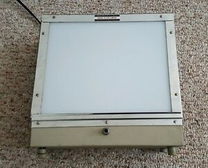 Vintage Ge Photography Lightbox 8 x10 Tested Works Perfectly Model 810v