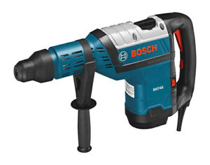 New Bosch 13 5 Amp1 3 4 corded Variable Speed Sds max Rotary Hammer Drill Rh745