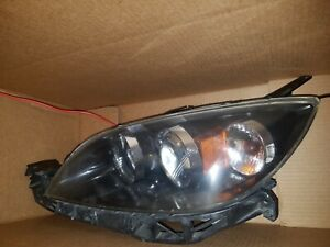 2006 2007 2008 2009 Mazda 3 Driver Left Hid Xenon Headlight Head Lamp 06 07 08