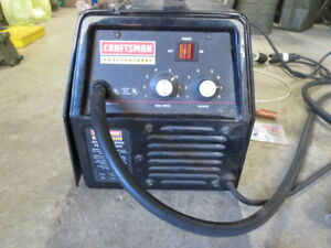 Craftsman Mig Wire Feed Welder With Gas Regulator