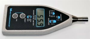 Metrosonics Db 2100 Sound Level Meter W Manual Quest