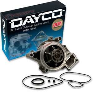 Dayco Water Pump For Chevrolet Captiva Sport 2012 2015 2 4l L4 Engine Tune Rt