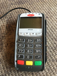 Ingenico Ipp320 Emv Swipe Credit Card Reader Pinpad