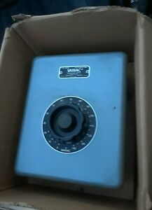 General Radio Co Variac Autotransformer Type W50m New Old Stock