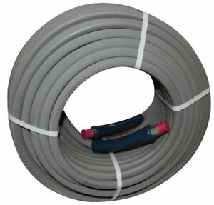 100 Ft 3 8 Gray Non marking 4000psi Pressure Washer Hose