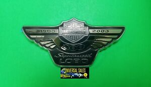 Lobo Harley Davidson Ford F150 Supercharged Anniversary Emblem 2003 Genuine New