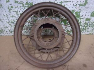 1933 1934 Ford Wire Wheel 17 Rat Rod 5 Hole 5 1 2 Bc Man Cave Decor