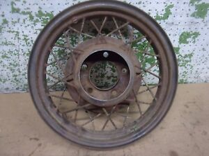 1933 1934 Ford Wire Wheel 17 X 3 1 4 Rat Rod 5 Hole 5 1 2 Bc Man Cave