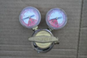 Vintage Uniweld Acetylene Regulator Model Rmc2 Listed 592h Made In Usa