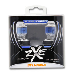 Sylvania Silverstar Zxe High Beam Low Beam Headlight Bulb For Peugeot 405 De