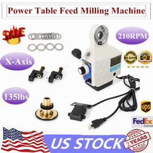Power Table Feed 135lb For Bridgeport Type Vertical Milling Machine Power Feeder
