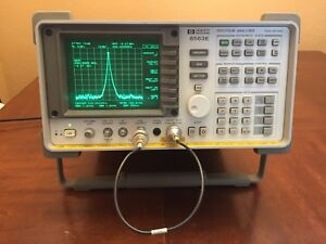 Hp Agilent 8563e 9 Khz 26 5 Ghz Spectrum Analyzer Warranty