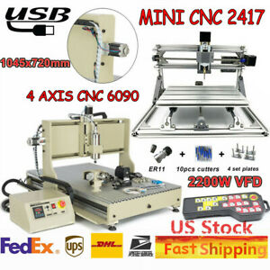 3 Axis Diy Cnc 3018 Mill Wood Router Kit 3d Engraver Pcb Milling Machine er11
