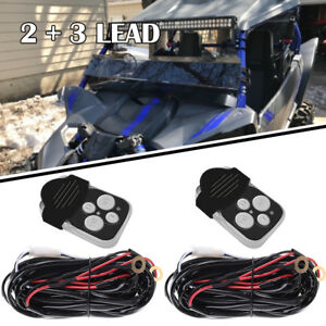 8ft Power Switch Relay Wiring Harness Kit For Led Light Bar Off road Risepower