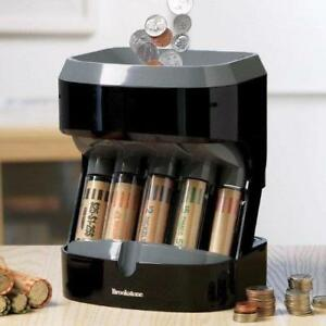 Copper Penny Sorter Machine Quarter Dime Electronic Money Change Coin Counter