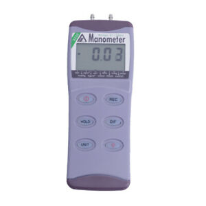 Az8230 Digital Pressure Meter Gas Pressure Gauge Manometer