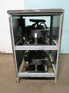 copeland Kwm1 0100 tac 101 Commercial Heavy Duty Double Stacked Compressors
