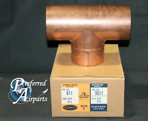 New Nibco Plumbing And Heating 3 625 Od Copper Tee Fitting