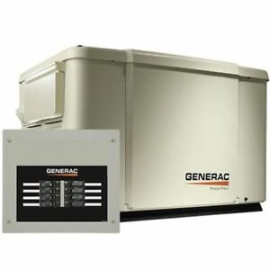 Generac 69981 Powerpact 7 5 6 Kw Standby Generator With Automatic Transfer