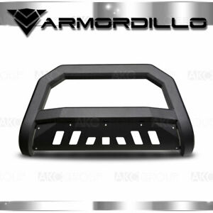 Fits 1998 2012 Ford Ranger Ar Series Matte Black Bull Guard W skid Plate